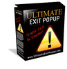 The Ultimate Exit Popup -JUST 5 USD - With MRR