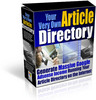 Thumbnail *NEW!* Your Very Own Article Directory - JUST $1-With MRR