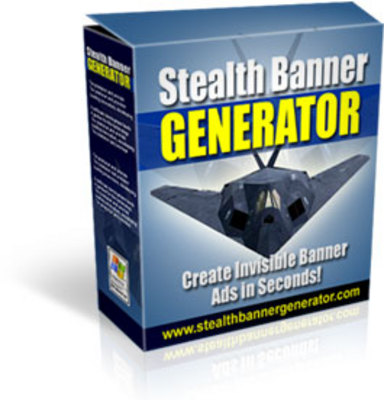Product picture *NEW!* -Stealth Banner Generator-JUST 1 USD -With MRR