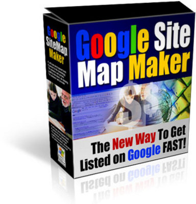 Product picture *NEW!* Google Site Map Maker-JUST 1 USD -With MRR