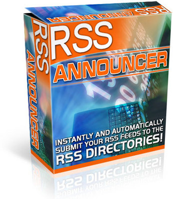 Product picture *NEW!* RSS Announcer -JUST 1 USD-With MRR