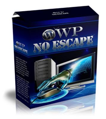 Product picture *HOT* WP No Escape Wordpress Plugin -Bonus MRR