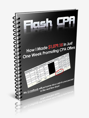 Product picture CPA Flash - Just 5 USD